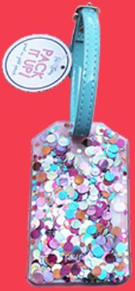Confetti - Luggage Tag