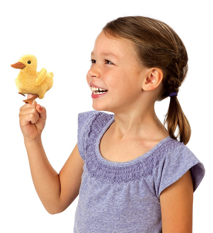 Mini Duckling Finger Puppet