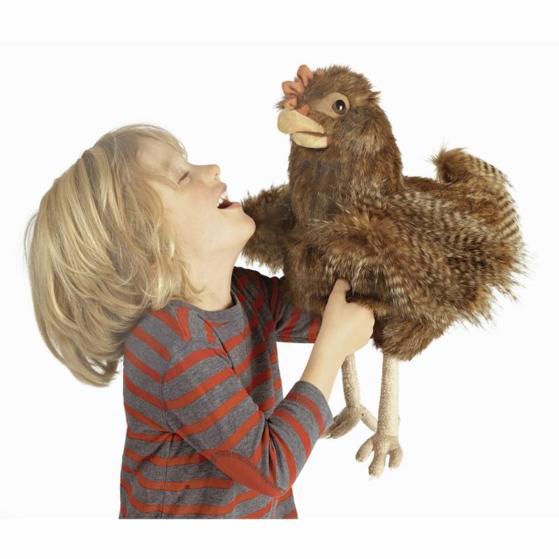 Red Hen Puppet