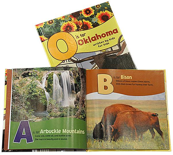 O is for Oklahoma Book
