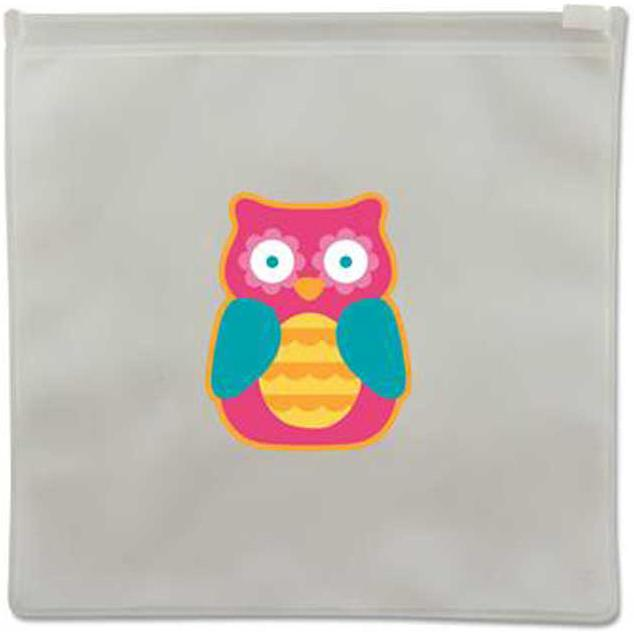 Owl Reusable Snack Bags