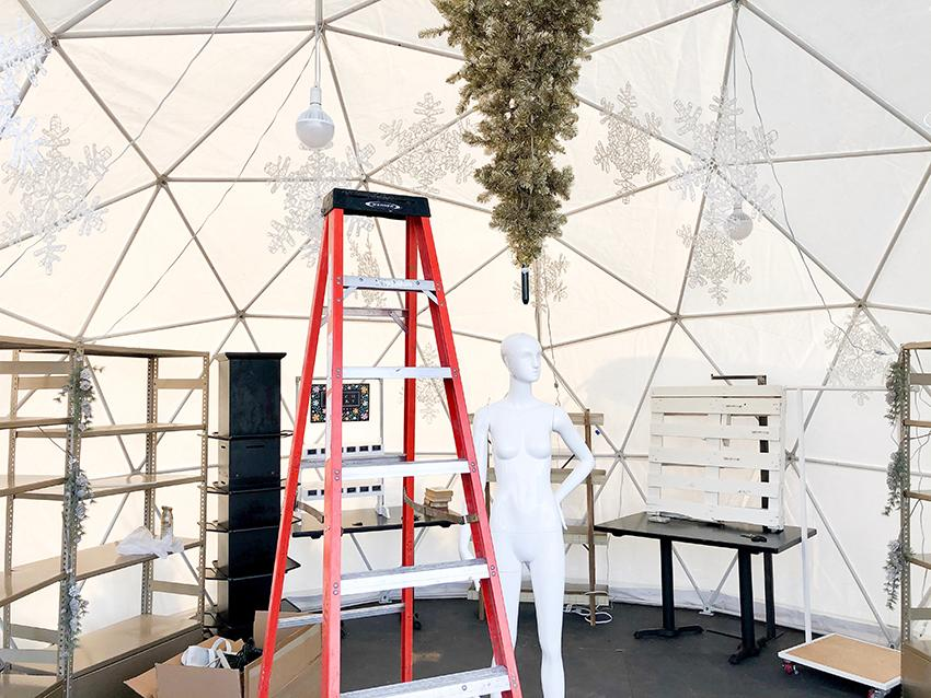 Painted Door - Holiday Pop-Up Shops - Dome 3