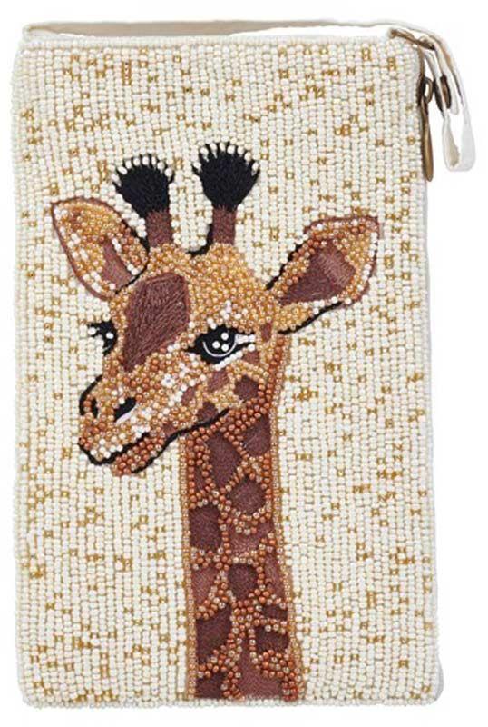 Beaded Giraffe Crossbody