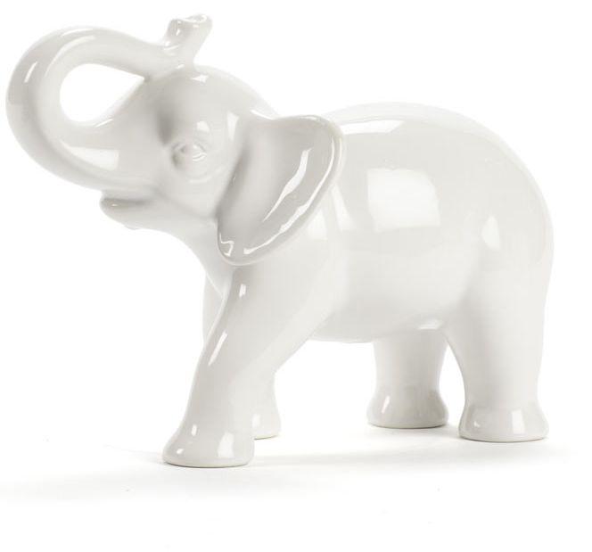 White Elephant Figure