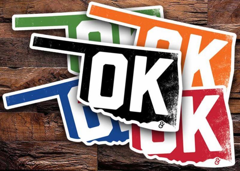 Oklahoma State Pride Stickers