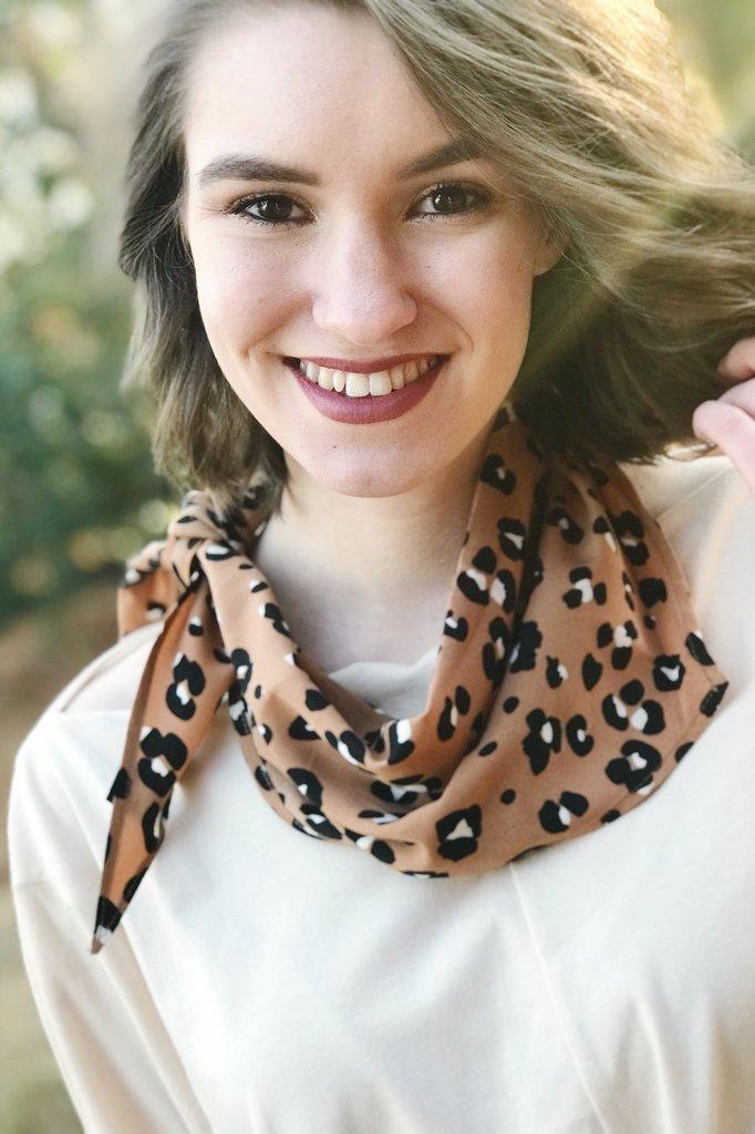 Leopard Neckerchief