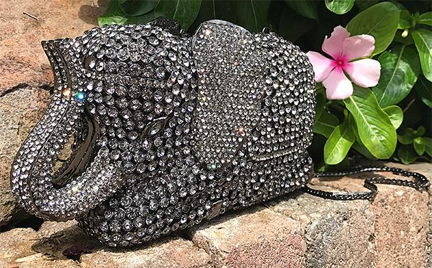 Jeweled Elephant Handbag