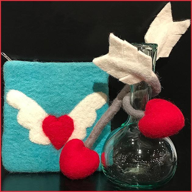 Heart felt items