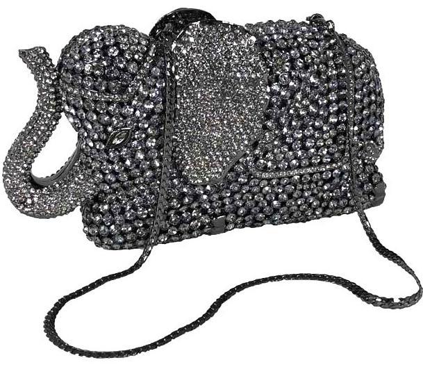 Elephant Blingy Handbag