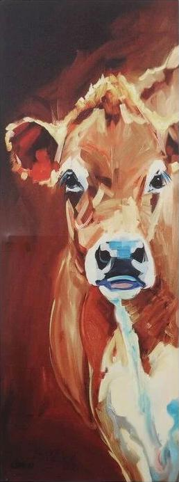 Cow Picture on Canvas