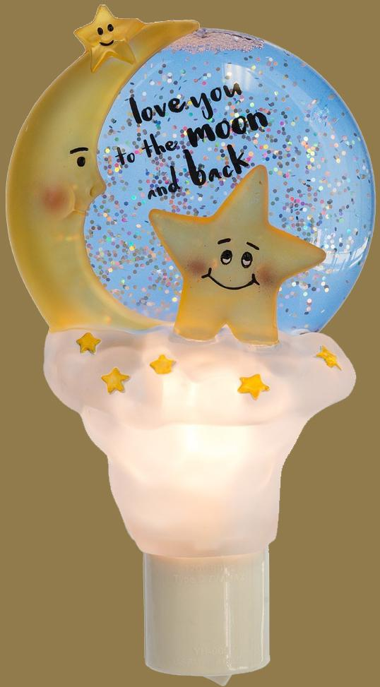 Love You to the Moon and Back Night Light