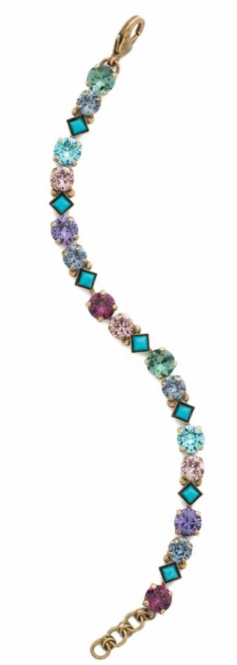 Sorrelli - Jewel Tone Crystal Tennis Bracelet