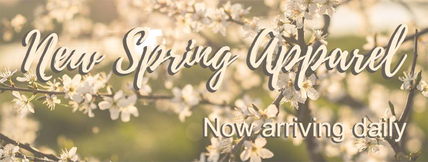 New Spring Apparel