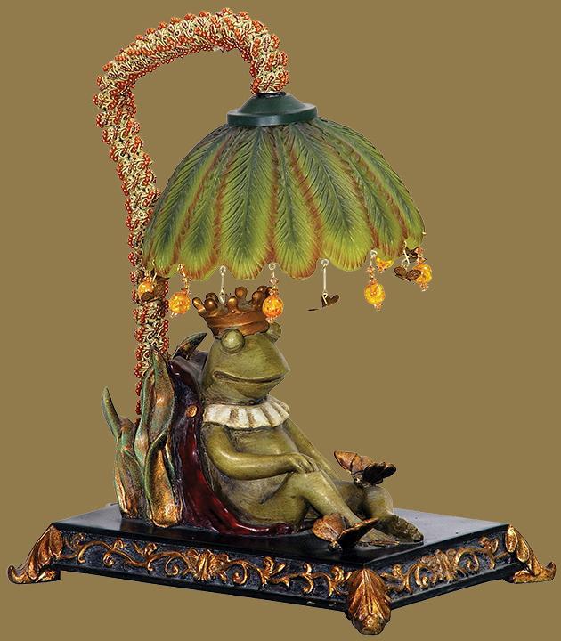 King Frog Sleeping Lamp