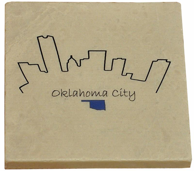 Oklahoma City Marble Coaster