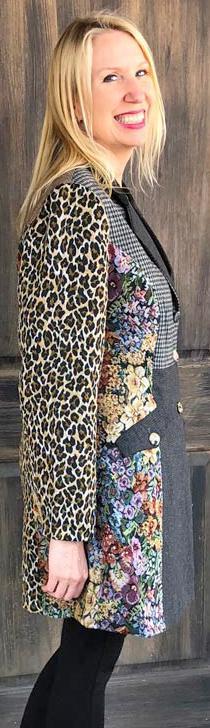 Mixed Textures Jacket