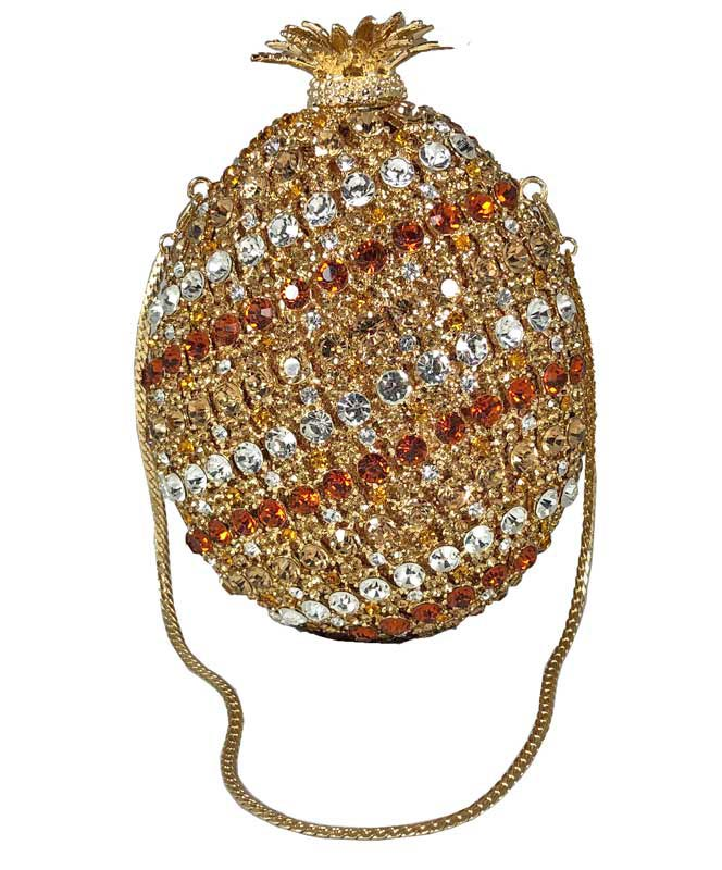 Pineapple Blingy Handbag