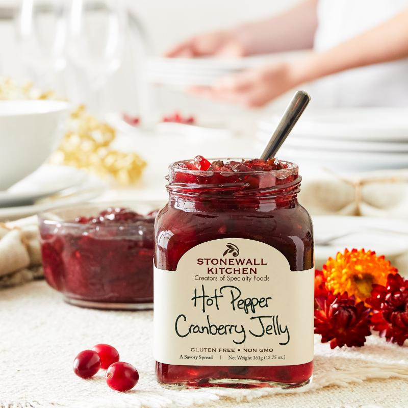 Hot Pepper Cranberry Jelly
