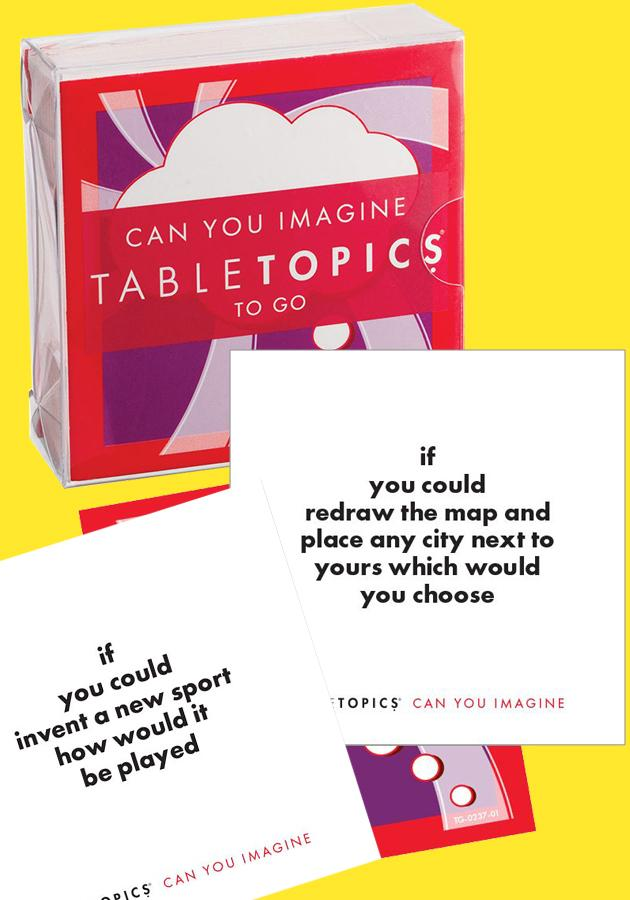 Tabletopics - Can You Imagine