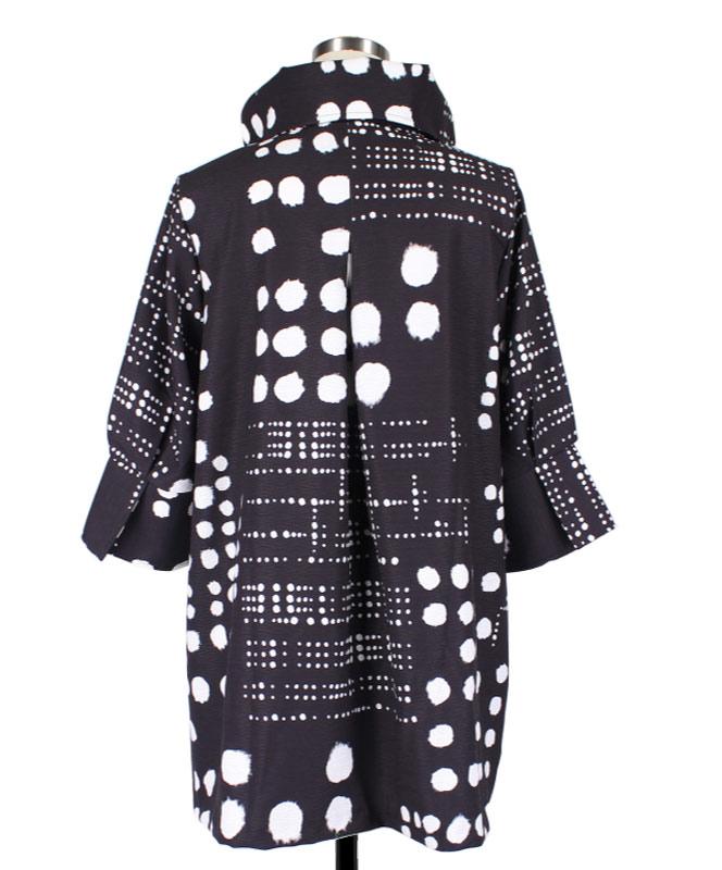 Dalmation Dots Swing Jacket