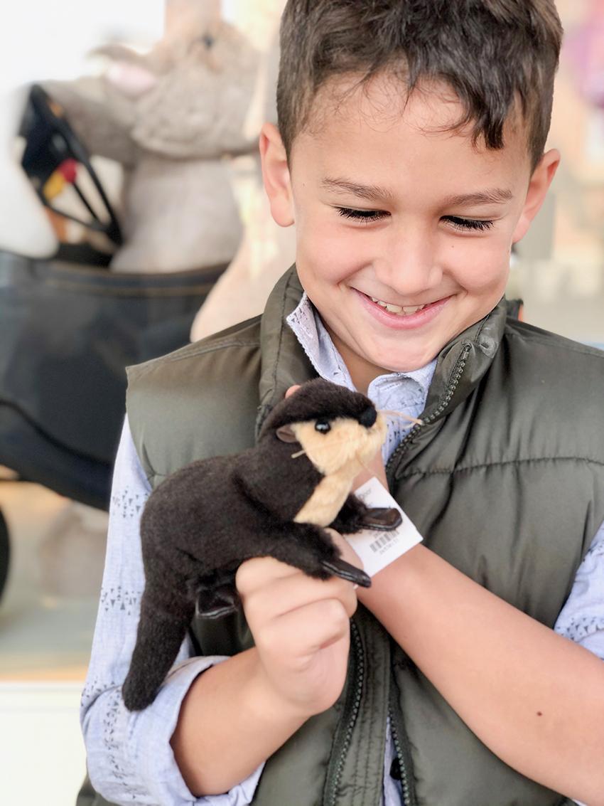 Mini River Otter Puppet