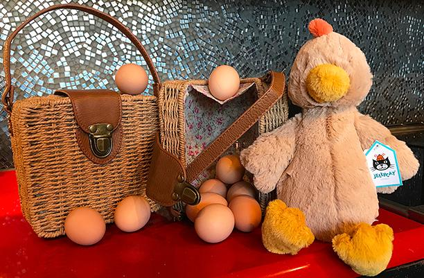 Jellycat Chicken _ Picnic Basket Handbag