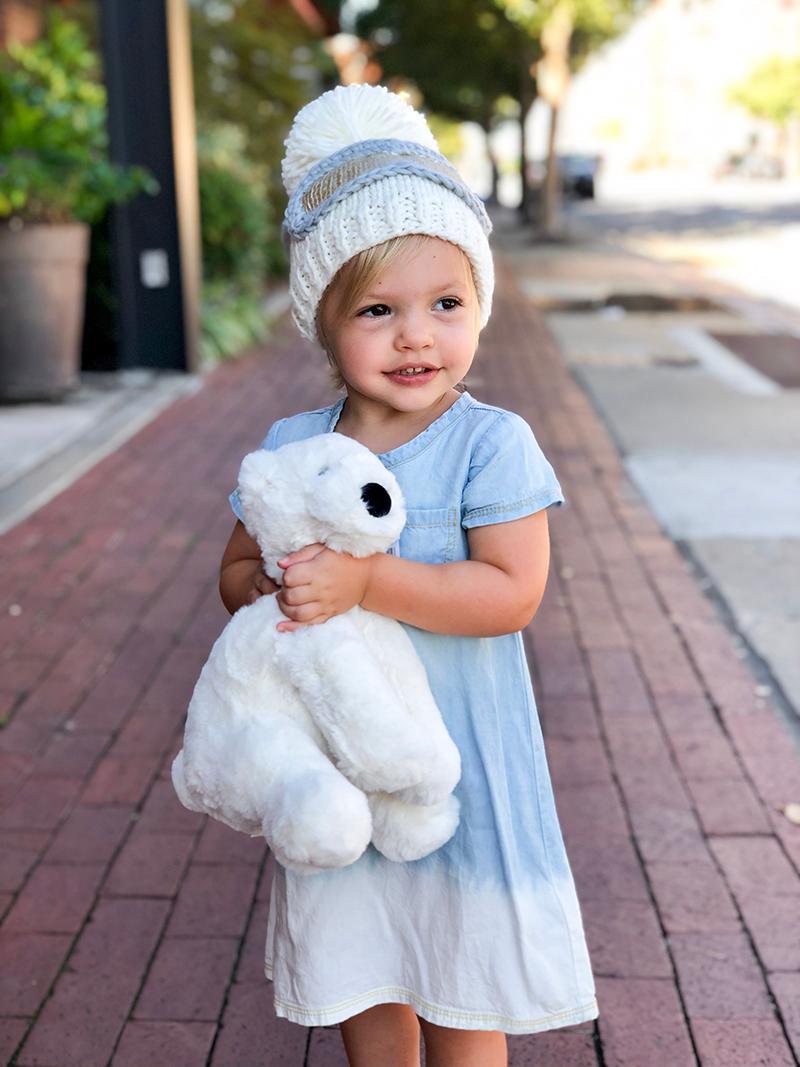 Polar Bear and Ski Hat