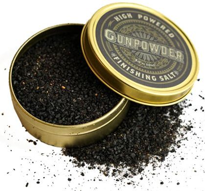Gunpowder Finishing Salt