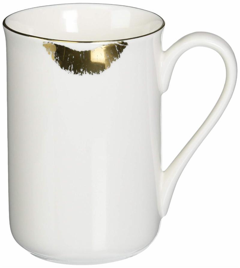 Gold Lips Coffee Mug