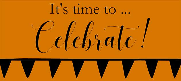 It's time to Celebrate!