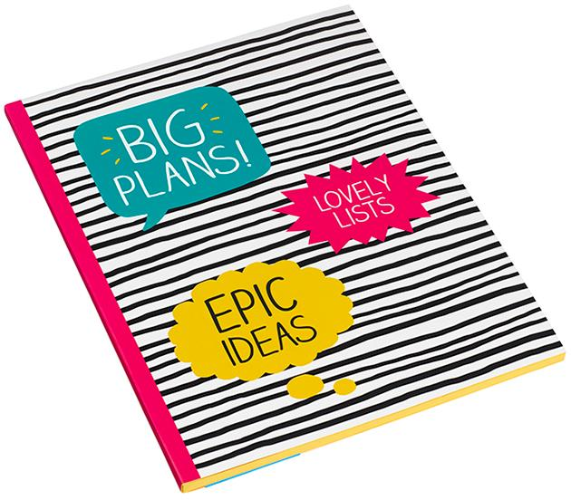 Big Plans Notebook