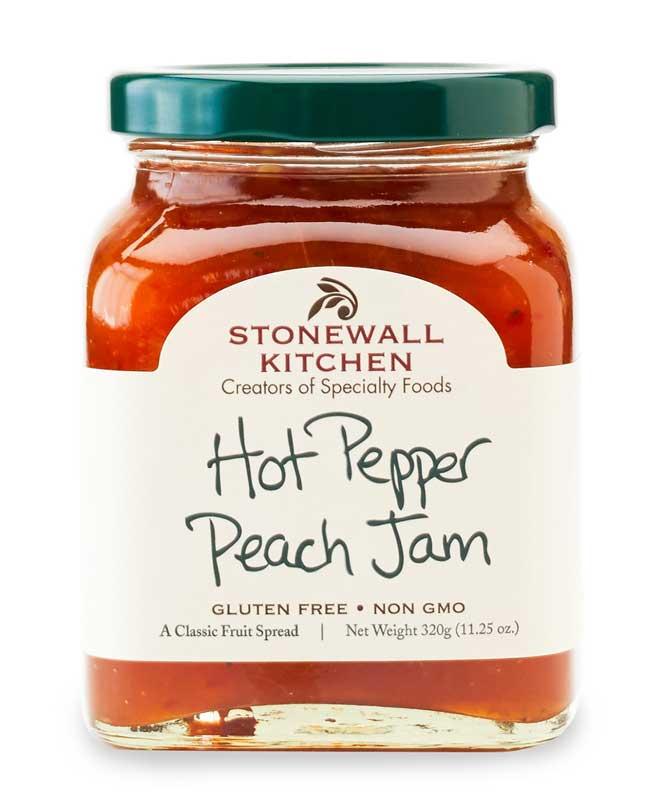 Hot Pepper Peach Jam
