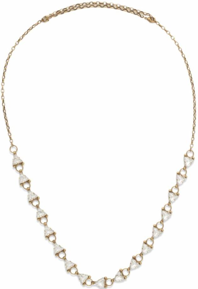 Sorrelli - Tri Me Crystal Necklace