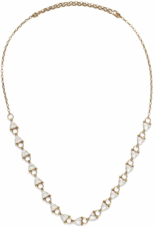 Sorrelli - Tri Me Crystal Necklace