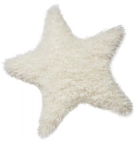 Furry Star Pillow