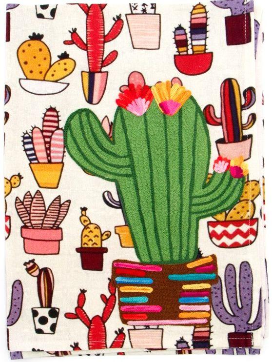 Cactus Dishtowel