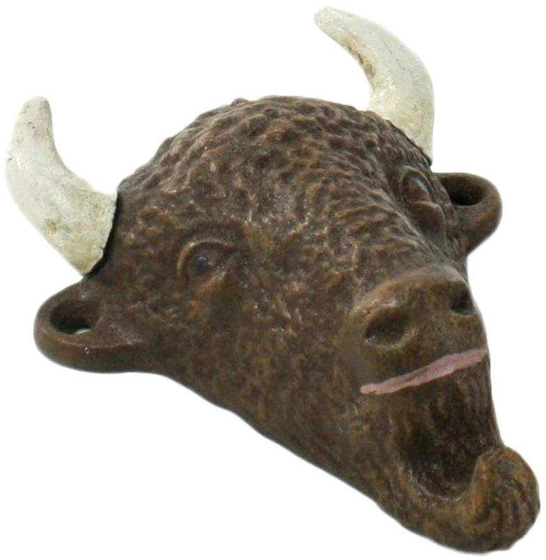 Cast Iron Buffalo Bottle Opener