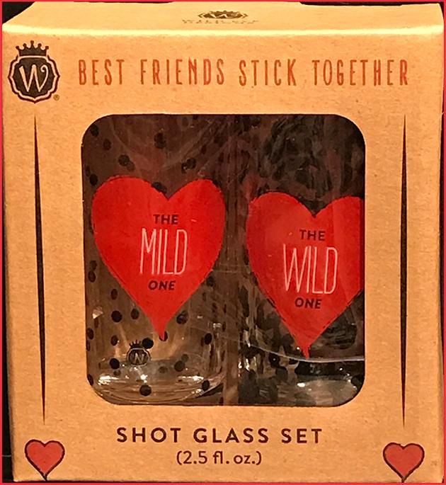 Mild & Wild Shot Glasses