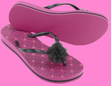 Pretty You Pink Flip Flops