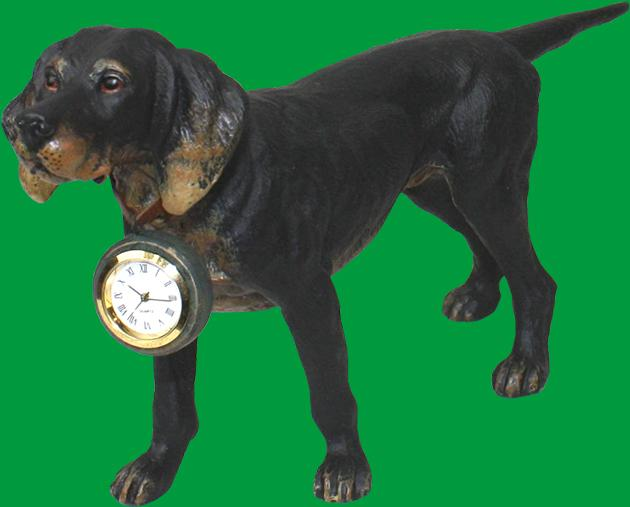 Hunting Dog with Watch