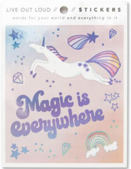 Magic Is Everywhere Vinyl Stickers