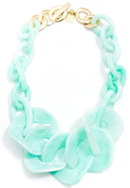 Mint Cloud Nine Necklace