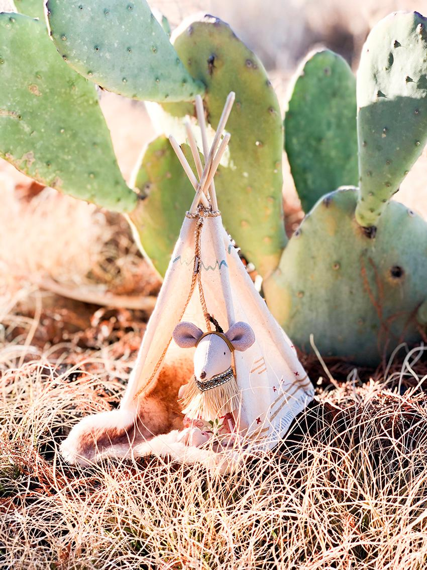 Maileg - Little Feather with Teepee