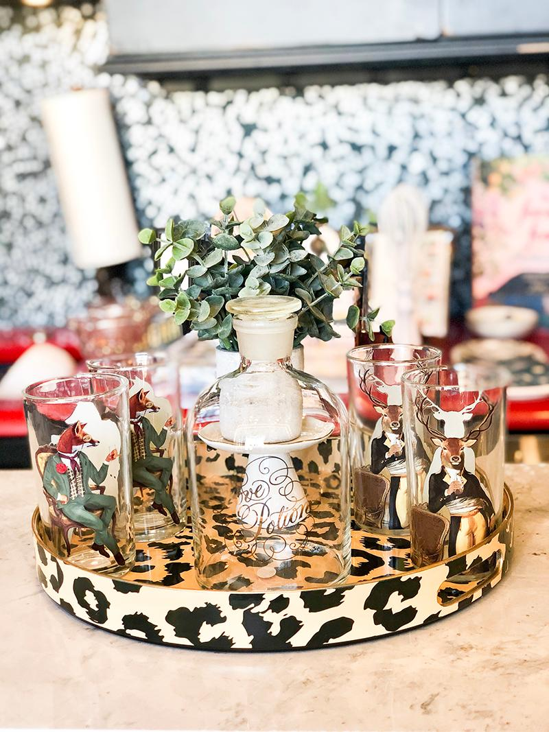 Love Potion Decanter_ Fox and Deer Glassware