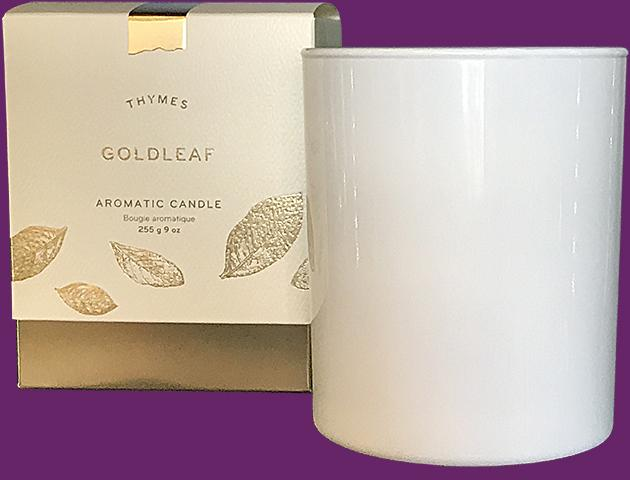 Goldleaf Aromatic Candle