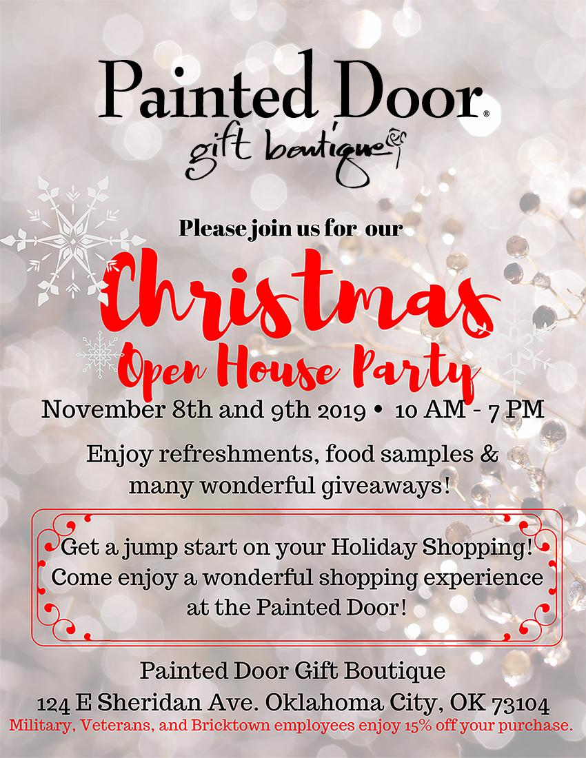 Christmas Open House Party