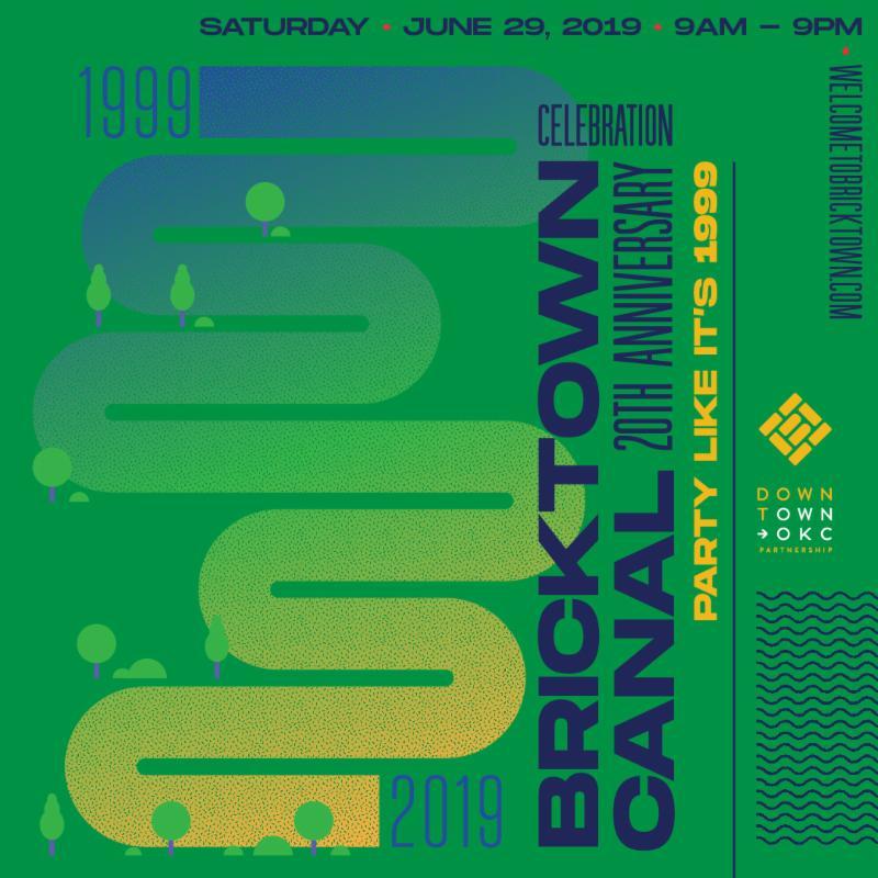 Bricktown Canal 20th Anniversary