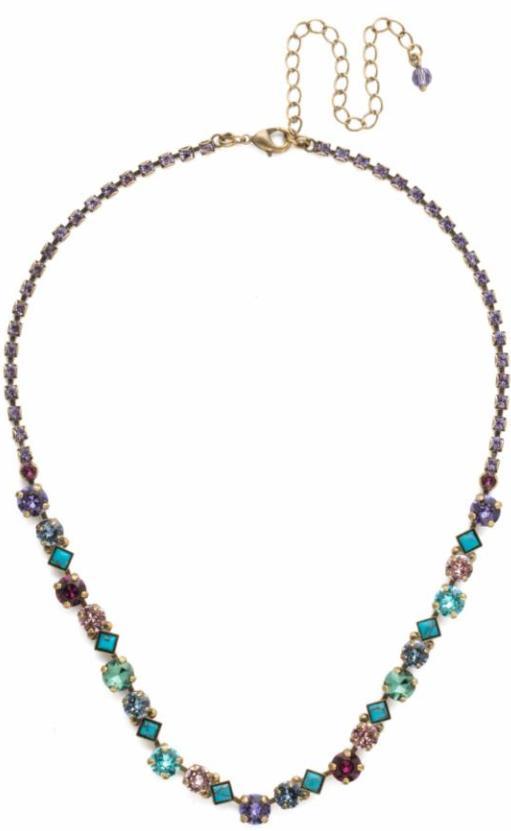 Sorrelli - Jewel Tone Classic Line Necklace