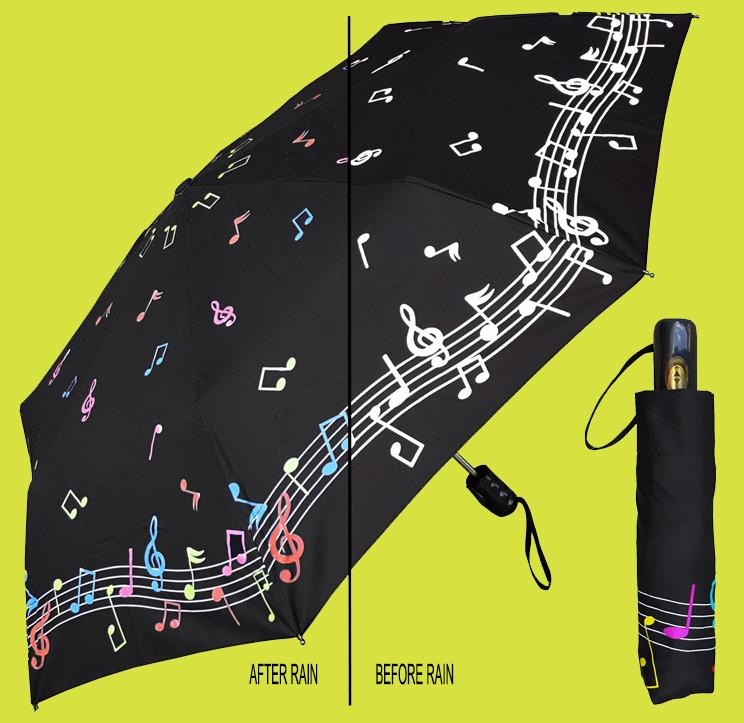 Music Umbrella Color Changing
