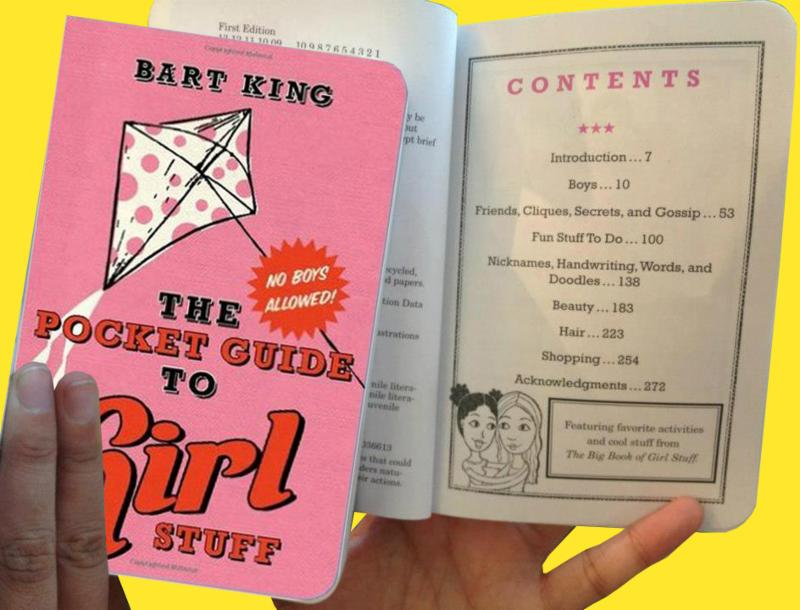 Book - The Pick Guide to Girl Stuff